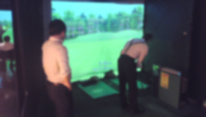 シミュレーションゴルフ大会